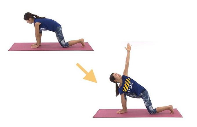 腰痛や肩こりの予防にもなるストレッチの手順