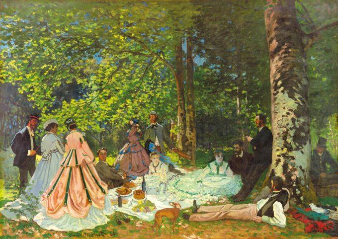 クロード・モネ《草上の昼食》