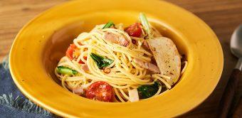まるでお店で食べるようなコクと旨味!「かぶとベーコンのスパゲッティ」のレシピ