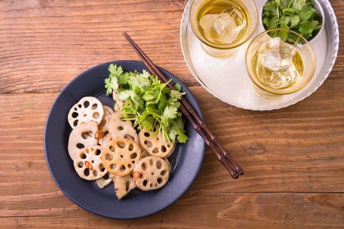 レンコン料理の写真