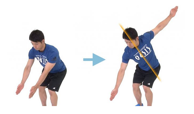 背筋を引き締めるエクササイズの手順