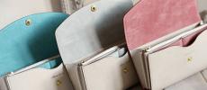 Albero Sacroの収納たっぷりな長財布3色