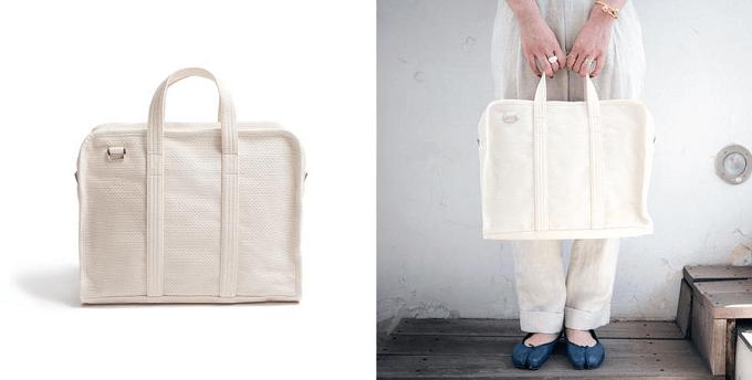小旅行におすすめなシンプルなデザインのバッグ