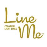 照明まわりのアイテムを販売しているブランド、LineMeのロゴ