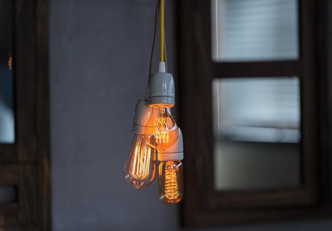 レトロクラシックな雰囲気のLineMeの照明