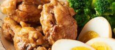 たれやお酢で違った味付けに。お肉やわらか「鶏のさっぱり煮」