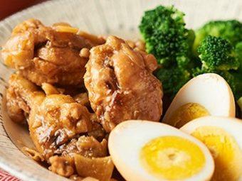 たれとお酢でいつもとちょっと違う味が楽しめる。「鶏のさっぱり煮」のレシピ