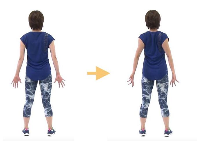 肩のインナーマッスルを鍛えるエクササイズの手順