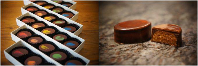 清澄白河のおすすめスイーツ、Artichoke chocolateのボンボンショコラ
