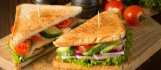 おしゃれで美味しい、おすすめサンドイッチ
