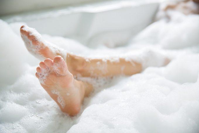 入浴後のストレッチは柔軟性を高める