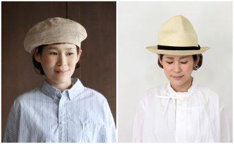 おしゃれも日焼け対策も万全。大人の女性のコーデに映える帽子