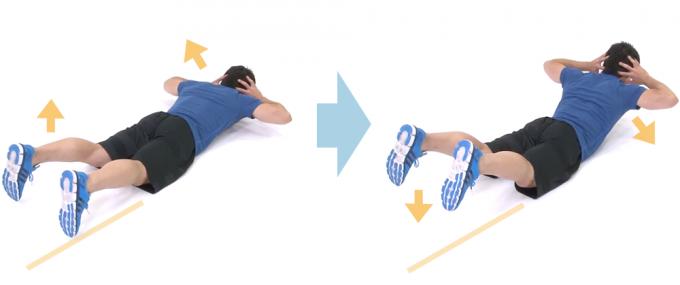 背中とお尻を鍛えるエクササイズ「バックエクステンション フロア」の手順