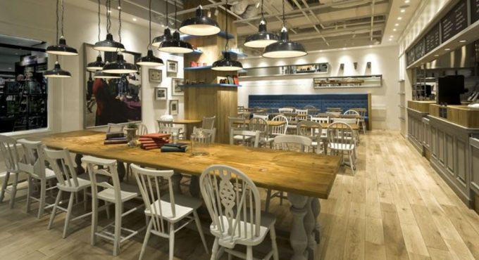 二子玉川ライズのおすすめカフェ「コクテール堂コーヒー」の店舗内観