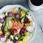 たくさんの野菜を使って栄養満点。彩り豊かで写真映え...