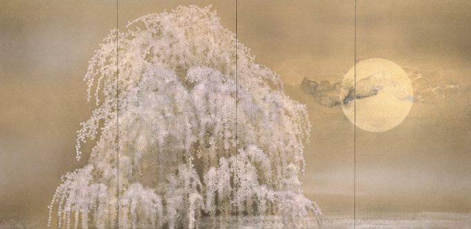 『Re 又造 MATAZO KAYAMA』出品作品、加山又造「おぼろ」