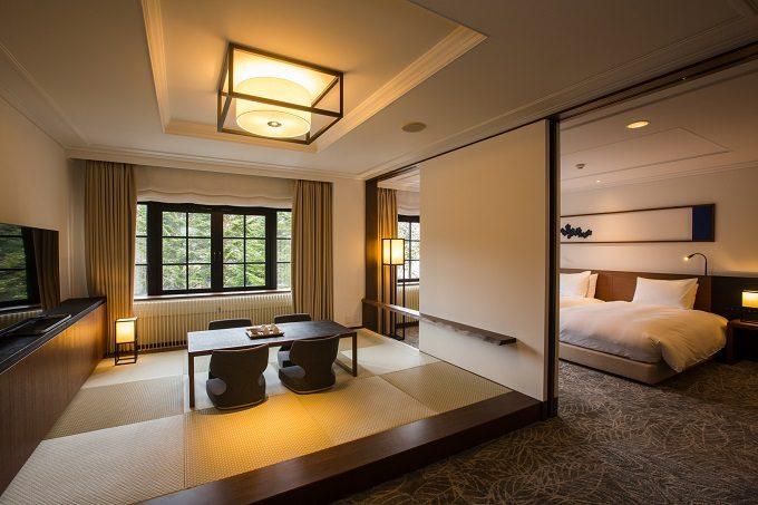 旧軽井沢ホテルの客室