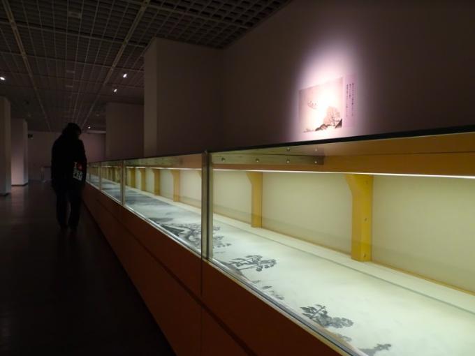 『生誕150年 横山大観展』の館内の様子