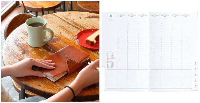おしゃれで機能的な文房具がおすすめの「HIGHTIDE」のビジネスシーンにも使える手帳
