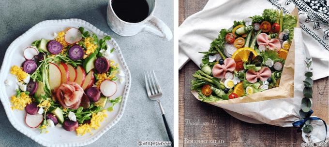 初心者におすすめ、インスタ映えするフォトジェニックなサラダの盛り付け方