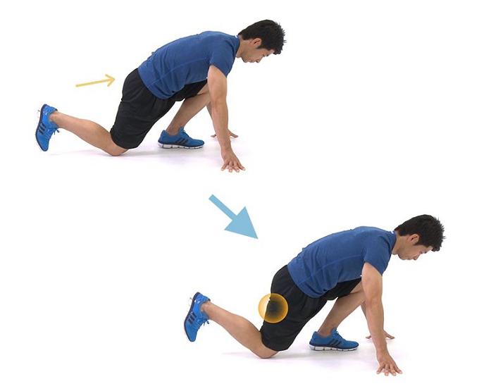 太もも裏の引き締めと、腰痛予防にもつながるエクササイズの手順