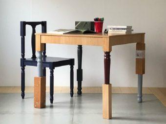 一味ちがうインテリアに。お部屋がアーティスティックな空間になる「LUFF」の不思議な家具
