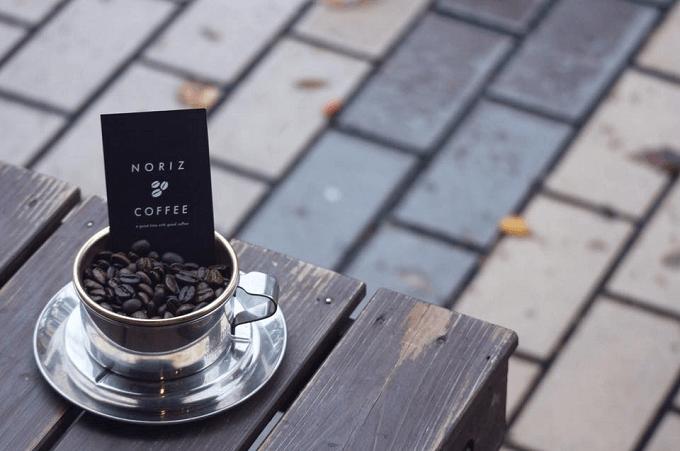 武蔵境のおすすめカフェNORIZ COFFEEの自家焙煎のコーヒー豆