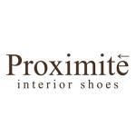 革のインテリアシューズブランド「Proximite(プロキシミテ)」のロゴ
