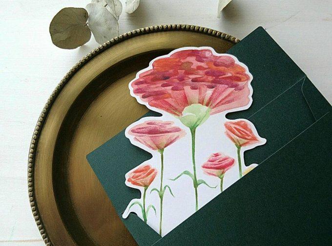 シロヤギ紙企画の母の日カード