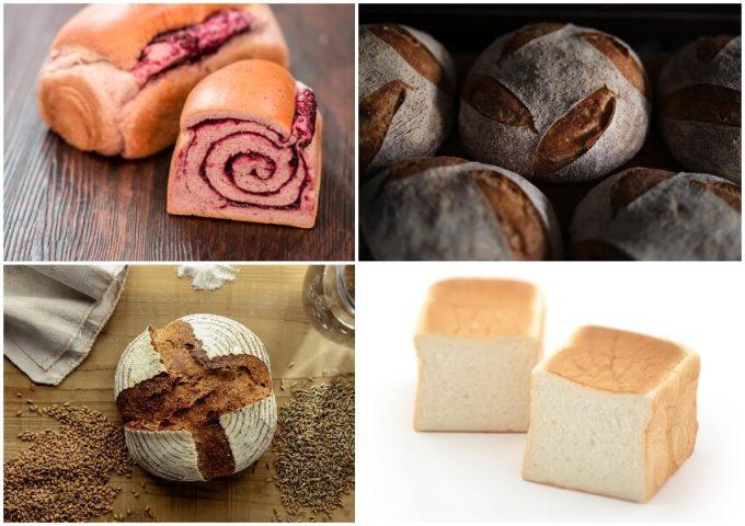 パンタスティックに出店するパン4種