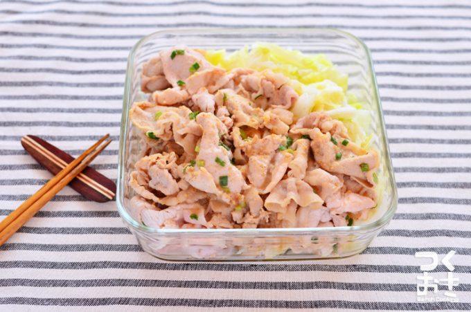 おすすめ豚しゃぶアレンジレシピ「ちょい辛うまダレの豚しゃぶきゅうり」
