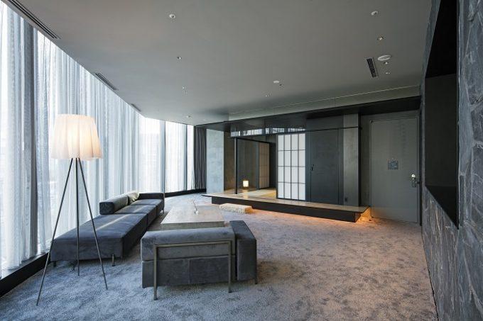 茶室をデザインコンセプトにした「hotel koe」