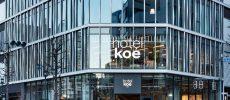 渋谷にある「hotel koe tokyo」のおしゃれな外観