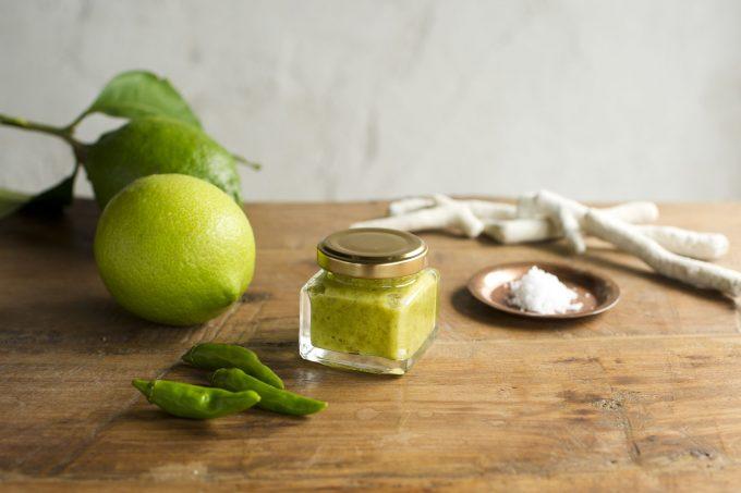 レモンママレードやレモンの塩
