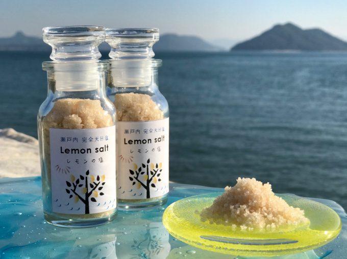 瀬戸内、てしま天日塩ファーム 完全天日塩「レモンの塩」
