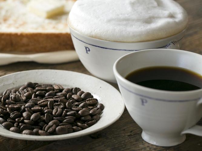 香川県高松市の自家焙煎コーヒー店「プシプシーナ珈琲」のコーヒー