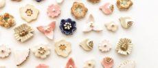 心の中に咲く花がイメージ。春につけたい「tocohana ceramics」の陶器のピアス
