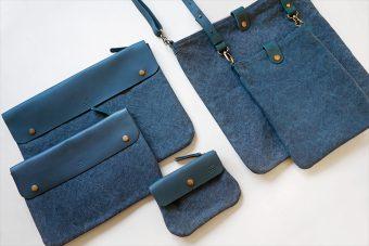 トラベラーズファクトリーのキャンバスバッグ&ポーチに新色のブルーが登場