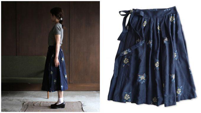 ネイティブヴィレッジの巻きスカート
