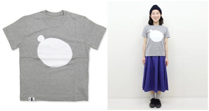 イオグラフィックのプリント半袖Tシャツ