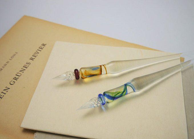 ガラスペン「Luft/空気」の「nostalgie/ノスタルジー」シリーズ