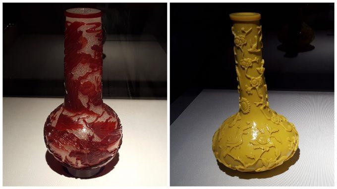 「ガレも愛した-清朝皇帝のガラス」の展示の様子4