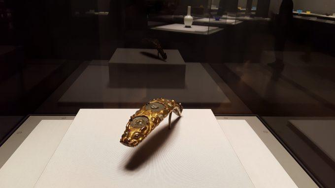 「ガレも愛した-清朝皇帝のガラス」の展示の様子5