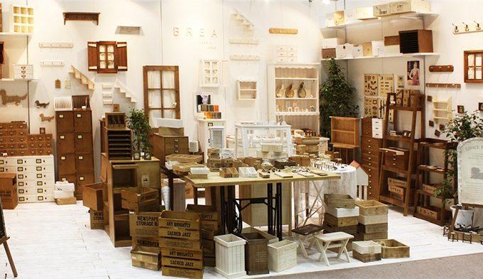 木製のインテリア雑貨やキッチン用品などを扱う「BREA」