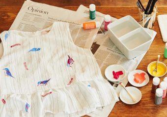 シンプルな服やバッグが変身。「FABRIER」で絵を描くように着色を楽しもう