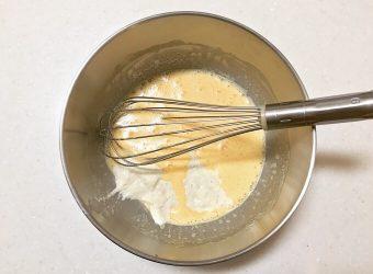 「ソルティチーズ・イーストマフィン」のレシピ1