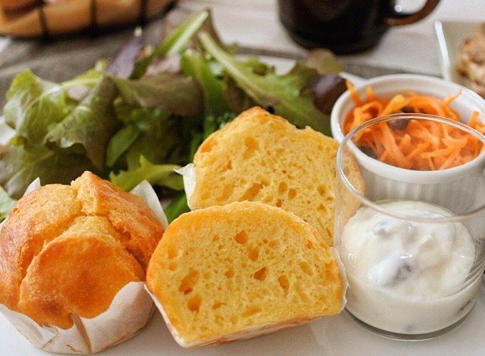 「ソルティチーズ・イーストマフィン」がメインの朝食例