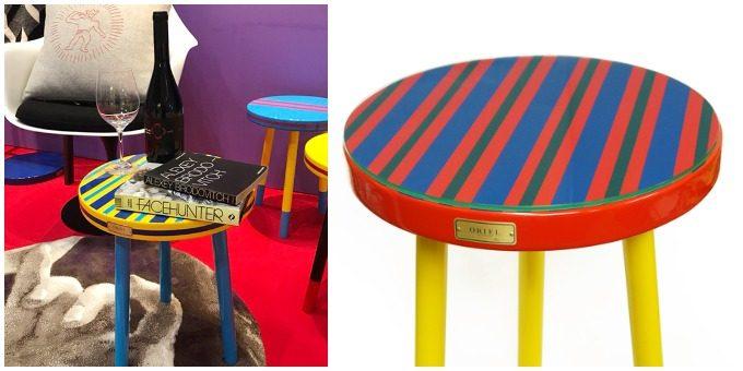 ORIEL furnitureのおしゃれなサイドテーブルがある部屋イメージ