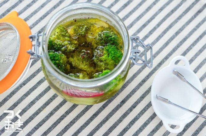 作り置きレシピ,「ブロッコリーのピクルス」のレシピ