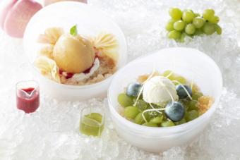 夏にぴったりのひんやりメニューが目白押し。第一ホテル東京で開催中の「かき氷フェア」